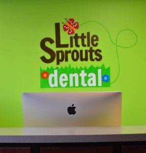 Little Sprouts Dental Lobby Free WIFI