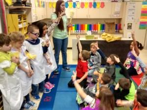 The first grade class